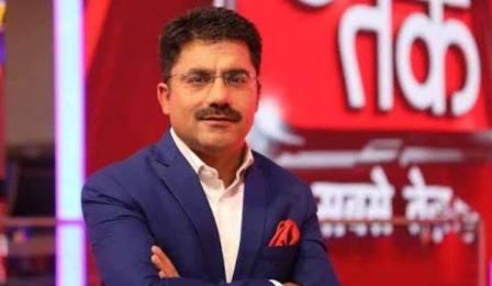 Renowned news anchor Rohit Sardana dies of heart attack Corona infected